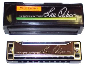 Lee Oskar 1910 Major Tuning Harmonica, Key of D