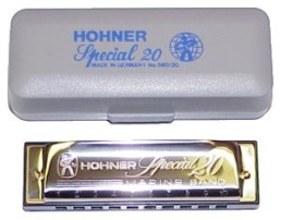 Hohner 560 Special 20 Harmonica, Key of A