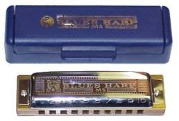 Hohner 532 Blues Harmonica, Key of Db