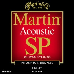 Martin MSP4100 Studio Performance Acoustic Guitar Strings