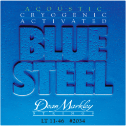 Dean Markley Blue Steel Light Acoustic Guitar Strings 2034
