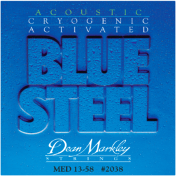 Dean Markley Blue Steel Medium Acoustic Guitar Strings 2038