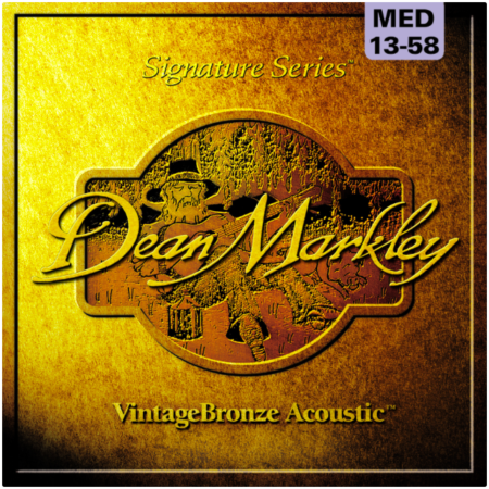 Dean Markley Medium Bronze Acoustic Guitar Strings 2006A