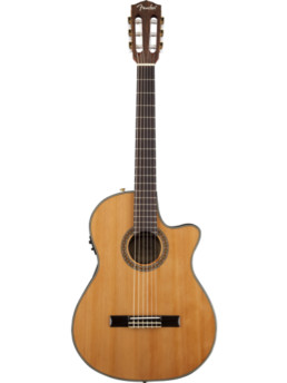Fender CDN-240SCE Thinline Natural