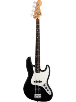 Fender Standard Jazz Bass Rosewood Fingerboard, Black