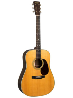 Martin D-28 Acoustic Guitar With Gold Plus Thinline Pickup