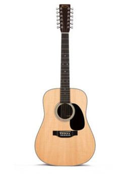 Martin D12-28 Acoustic Guitar With Gold Plus Thinline Pickup