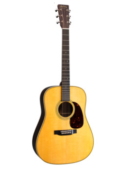 Martin HD-28 Acoustic Guitar With Gold Plus Thinline Pickup