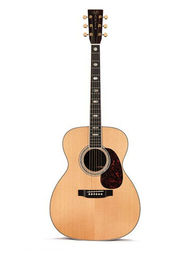 Martin J-40 Acoustic Guitar With Gold Plus Thinline Pickup