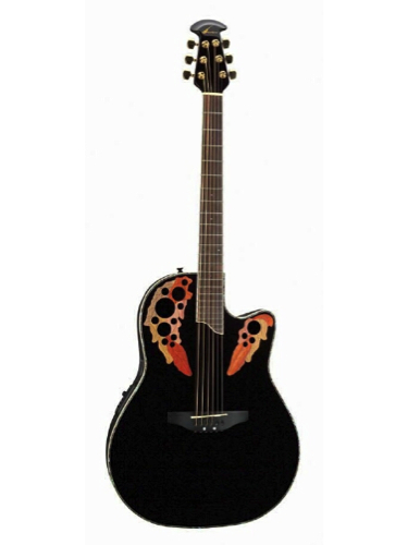 Ovation CC48-5 Black Celebrity Deluxe