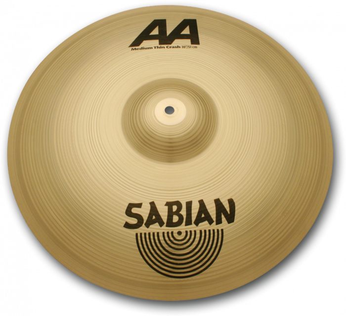 Sabian (AA) 21607 16 Inch Medium-Thin Crash Cymbal