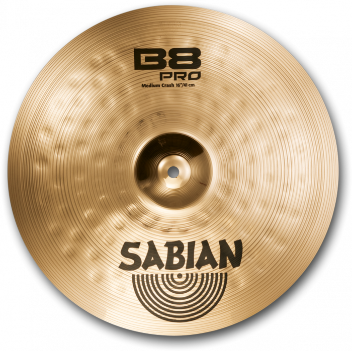Sabian (B8Pro) 31608 16 Inch Medium Crash Cymbal