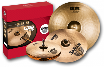 Sabian (B8Pro) 35003B Performance Cymbal Set