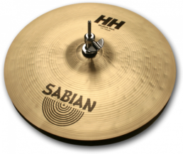 Sabian (HH) 11402 14 Inch Regular Medium-Top-Heavy-Bottom Hi-Hat Cymbals
