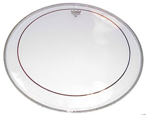 Remo PS1322-00 Pinstripe 22 inch Drumhead, Clear