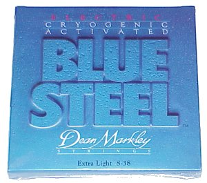 Dean Markley Blue Steel Extra Light Electric Guitar Strings 2550