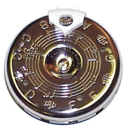 Kratt MK2S Master Key Chromatic Pitch Pipe
