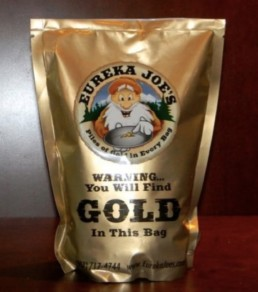 Eureka Joes Upper River Claim Two Pound Bag Of Paydirt
