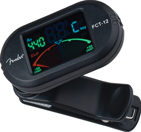 Fender FTC-012 Chromatic Clip-On Tuner