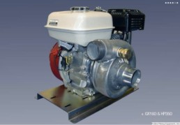 Proline Honda GX160 And HP350 Engine - Pump Combo