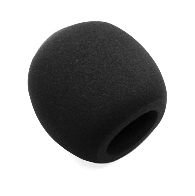 Stageline WSBKW Black Windscreen Ball Style