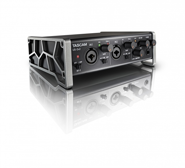 TASCAM US-2X2 Computer:Tablet Audio Interface