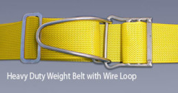 Proline Heavy Duty Weight Belt With Wire Loop