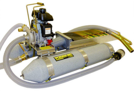 Keene 2 Inch Backpack Dredge With Suction Nozzle 2004PSNF