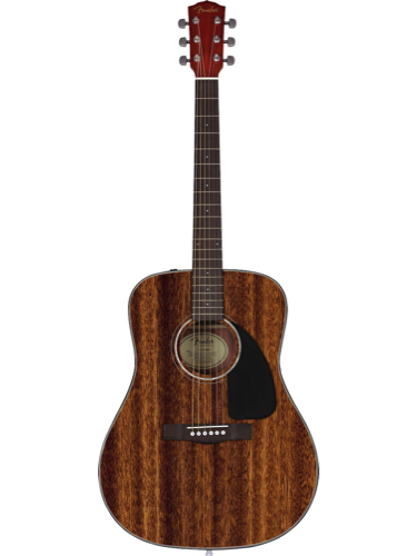 Fender CD60 All Mahogany Acoustic Guitar With Hardshell Case