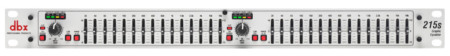 dbx 215S Dual Channel 15 Band Equalizer