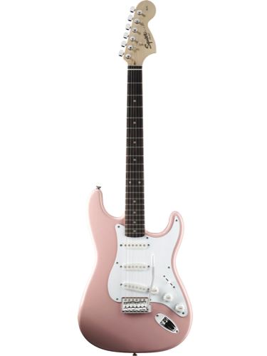 Fender Squier Affinity Stratocaster Shell Pink Rosewood Fingerboard