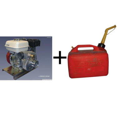 Engine and Gas Can
