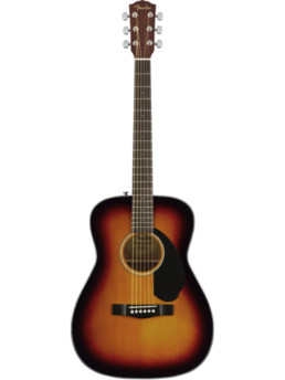 Fender CC-60S 3-Color Sunburst Solid Top Acoustic Guitar