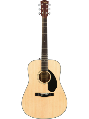 Fender CD-60S Natural Solid Top Acoustic Guitar