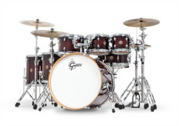 Gretsch CM1-E826P-DCB Catalina Maple 6 Piece Deep Cherry Burst Drum Set Shell Pack