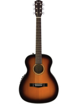 Fender CT-140SE Sunburst Solid Top Acoustic-Electric Travel Guitar