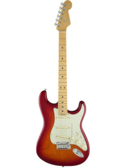 Fender American Elite Stratocaster Aged Cherry Burst Maple Fingerboard
